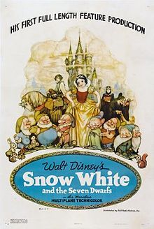 Snow White and the Seven Dwarfs is a 1937 American animated musical fantasy film produced by Walt Disney and released by RKO Radio Pictures.