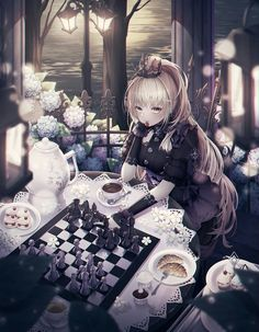 /r/Moescape is a place to post all of your favorite artworks and screen caps of cute Anime characters in their environment. Gothic Anime Girl, Dark Anime Girl, Cool Anime Girl, Pretty Anime Girl, Beautiful Anime Girl, Anime Art Girl, Manga Girl, Anime Girls, Manga Kawaii