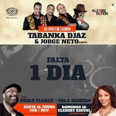 """""""Ao Vivo em Luanda para 2 concertos TABANKA DJAZ. COM JORGE NETO """"LIVITY"""" PAULO FLORES E YOLA SEMEDO  DIA 16 NO CCB  DIA 18 NO CLESORT KIKUXI ----- #lsr #lsrepublicano #angola #musica #show #showbiz #eventos #artistas #músicos #music #events #artists #musicians #talents #midia #media #african #angolan ----- @ls_republicano  @neovibe.angola  @yola_semedo"""" by @ls_republicano. #이벤트 #show #parties #entertainment #catering #travelling #traveler #tourism #travelingram #igtravel #europe #traveller…"""