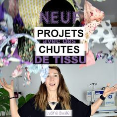 9 projects to use its fabric scraps - L'Usine à Bulle - Knitting 02 Couture Main, Pop Couture, Couture Sewing, Sewing Hacks, Sewing Tutorials, Sewing Projects, Sewing Tips, Sewing Online, Bubble