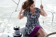 Our Geneva Wrap Dress in Zebra - http://www.igigi.com/plus-size-dresses/plus-size-day-dress/geneva-wrap-dress-in-zebra.html