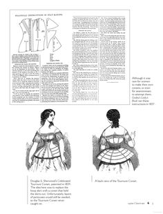 1850s fashion 1850s corset 1857 Corset. Godey's Lady's Book. Bound & Determined: A Visual History of Corsets, 1850--1960 - Kristina Seleshanko - Google Books
