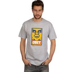 OBEY Orange Icon Face #backyardshop