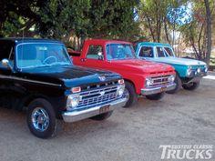 Vintage trucks | 1963 Ford F250 Pickup Truck Classic Trucks
