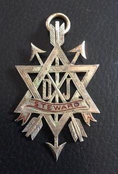 Altes-Abzeichen-Orden-Freimaurer-Steward