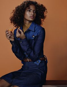 Malaika Firth by Emma Tempest for Vogue Russia
