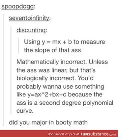 Math - slope vs polynomial curve