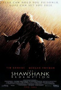 The Shawshank Redemption (1994) Two imprisoned men bond over a number of years, finding solace and eventual redemption through acts of common decency.