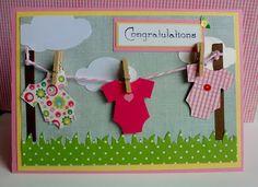 Baby card, so cute!