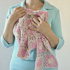 byHaafner, crochet, Candy Scarf, MoYa, pattern,