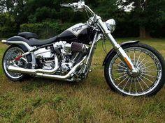 eBay: 2013 Harley-Davidson Touring Harley Davidson Breakout CVO 2013 1559 miles like new / 110 engine #harleydavidson