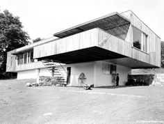 Breuer House I, New Canaan by Marcel Breuer #Bauhaus #architecture