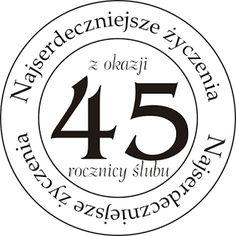 Z okazji rocznicy ślubu Card Templates, Lululemon Logo, Happy Birthday, Printables, Symbols, Letters, Logos, Scrapbooking, Cards