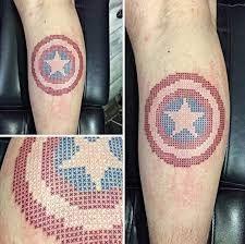 Home - Tattoo Spirit Captain America Tattoo, Home Tattoo, Tattoo Studio, Pixel Tattoo, Cross Stitch Tattoo, Grandma Tattoos, Shield Tattoo, Aquarell Tattoos, Tattoo Spirit