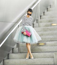 #bualá #atelier # skirt tulle sooooo lovely