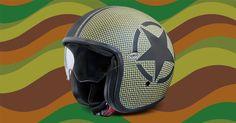premier #vintage #moto #helmet #jet #vintage #carbon