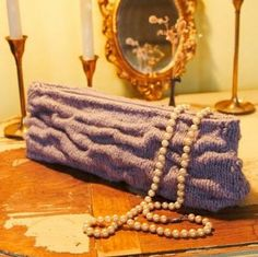 Imperial Stock Ranch Vintage Clutch Knitting Pattern + FREE SHIPPING!