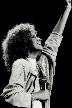Whitney Houston in Canada on Aug. 22, 1986.
