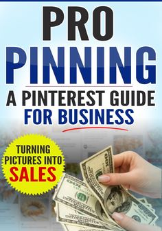 The ultimate guide to making money with Pinterest is now only $8 for a limited period: 73% off!