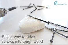 Easier way to drive screws