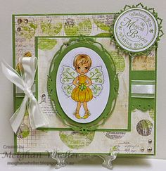 Whimsy Stamps, Fairies, Birthday, Sweet, Girls, Design, Products, Patterns, Faeries
