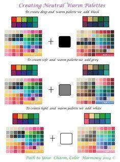 Красота, вдохновленная природой - Тайны колоритов - как отбираются цвета палитры =)