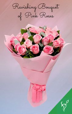 Product Details: 20 Light Pink Roses Fillers- 2 Stems Eucalyptus Leaves Wrapped in Pink Fabric Tied with Pink Ribbon Light Pink Rose, Order Flowers Online, Eucalyptus Leaves, Pink Fabric, Flower Delivery, Stems, Pink Roses, Flower Arrangements, Bouquet