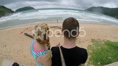 Couple at the beach - Stock Footage   by JahnProductions