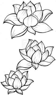 How to draw lotus flower step by step drawing tutorial with pictures lotus blossom tattoo by metacharis deviantart mightylinksfo