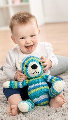 Classic Crochet Teddy Bear Free Pattern                                                                                                                                                                                 More