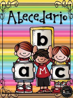 English Teaching Resources, Teaching Spanish, Alphabet Art, Alphabet And Numbers, Teacher Hacks, Teacher Gifts, Teaching Time, Bilingual Education, First Grade Reading