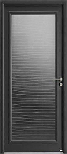 porte aluminium  porte entree  bel u0026 39 m  contemporaine  poignee rosace gris deco bel u0026 39 m  petit