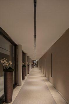 Lighting Concepts, Lighting Design, Restaurant Lighting, Path Lights, Light Installation, Room Lights, Corridor, Downlights, Outdoor Lighting