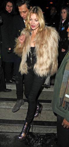 Kate Moss Photos - Celebs Spotted at Ronnie Scott's Jazz Club - Zimbio
