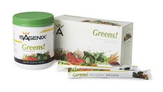 Isagenix Greens! complements your daily  requirement of 3 – 5 servings of vegetables,  so it's easy to get the nutrition your body  needs even on busy days. It's fast and  convenient—just add a scoop to 8 oz. of  water or juice. Or take your Greens! with  you in convenient on-the-go packets.