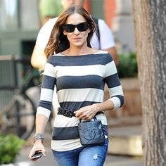 Leave It to Sarah Jessica Parker to Make the Fanny Pack Chic!  #InStyle