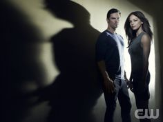BEAUTY AND THE BEAST Image Number: BB1_2Shot_Doorway_0579ra.jpg. Pictured (L-R): Jay Ryan as Vincent and Kristin Kreuk as Catherine. Photo Credit: Frank Ockenfels 3/The CW. © 2012 The CW Network, LLC. All rights reserved.
