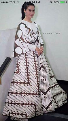 74 Best gamis batik images  0bcaf490c7