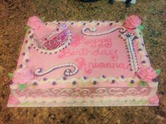 princess themed birthday sheet cakes - Google Search