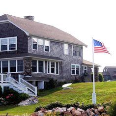Classic New England beach- New England lifestyle