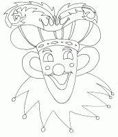 Coloriages carnaval et masque à colorier pour le déguisement - Coloriage carnaval - Tête à modeler Mardi Gras, Mandala, Symbols, Peace, Clowns, Umbrellas, Images, Art, Blog