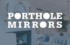 Nautical Style: Decorating with Porthole Mirrors Nautical Wall Decor, Nautical Style, Nautical Fashion, Porthole Mirror, Mirrors, Decorating, Inspiration, Home Decor, Decor