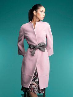 Пальто женское демисезонное цвет светло-розовый, Ворс, артикул 30135415