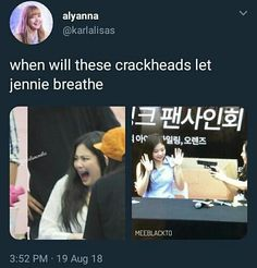 Welcome to the world of MEMEPINK! Highest ranking in non-fiction Started - Aug 2018 End - April 2019 Blackpink Memes, Funny Kpop Memes, Yg Entertainment, Blackpink Funny, Blackpink And Bts, Blackpink Video, Blackpink Photos, Jennie Blackpink, Kpop Girl Groups