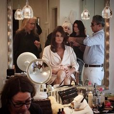 Exclusive Interviews and a Behind-the-Scene Look at *V.F.'s* Cover Queen: Caitlyn Jenner's Beauty Prep with the Chosen Glam Squad of Mark Carrasquillo, Oribe, and Deborah Lippmann   Vanity Fair