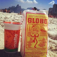 Biscoito Globo + Matte Leão = RIO.