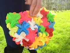 Don't MIS It: Flower Swim Cap Clutch DIY