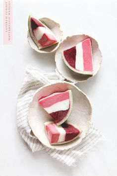 Watermelon Sorbet Wedges