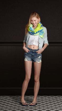 Cute look from hollister!
