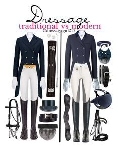 """Dressage: Traditional vs Modern"" by dressagegirl217 ❤ liked on Polyvore featuring Roeckl, Amira, Hermès, Sperry Top-Sider, Blue Nile and modern"